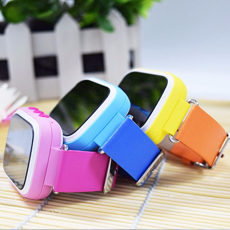 Original Kid GPS Smart Watch Baby Gift Wristwatch SOS Call Location Device Tracker for Kid Safe Anti Lost Monitor PK Q60 Q90 недорого