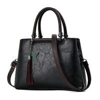 Vintage Bags Handbags Women Famous Brands Fashion Women Handbags 2017 Tassel Tote Shoulder Bag Female Top-handle Bags sac a main