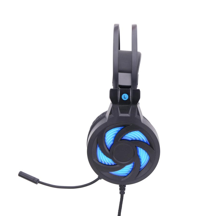 High-end Stereo Gaming Headset Headband Headphone USB 3.5mm LED Fashion Headphones with Mic for PC Gamer Nov23