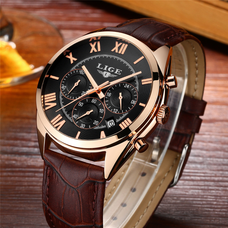 Top brand luxury multifunction chronograph sports watch 5