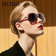 Mizho TR90 Marco de estiramiento moda oversized Polarized gafas de sol para  las mujeres de lujo vintage UV protector oval gafas . 2a15c93d1da5