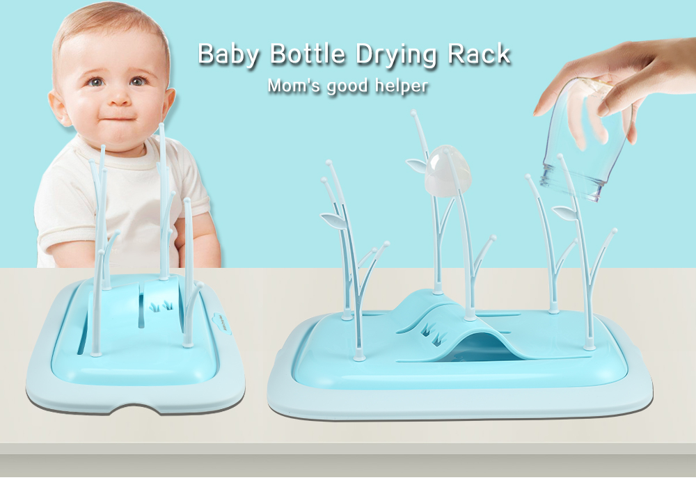 Baby Bottle Drying Rack for Infant Bottles Nipples and Feeding Accessories