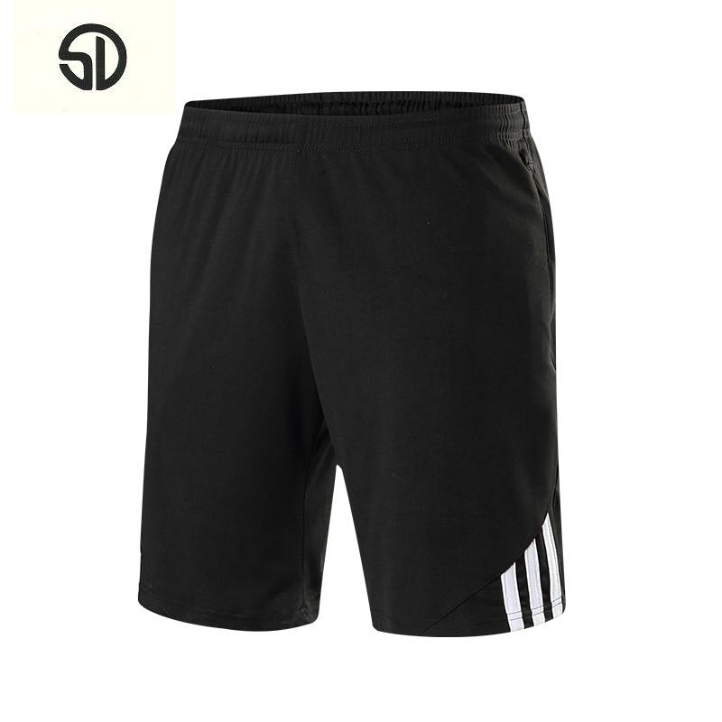 Summer Casual Beach Shorts Men Exercise Elastic Waist Sim Fit Solid Knee Length Bermudas Masculina Plus Size Plaid Shorts