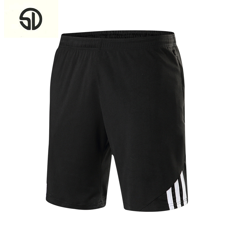 Summer 2018 Casual Beach Shorts Men Exercise Elastic Waist Sim Fit Solid Knee Length Bermudas Masculina Plus Size Plaid Shorts