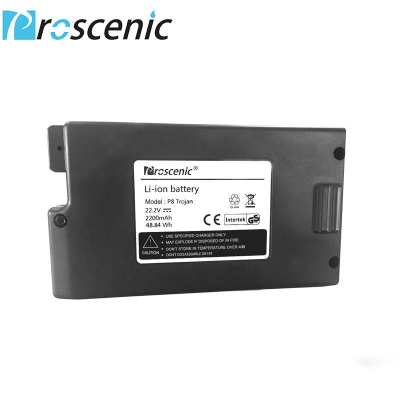 Proscenic P8/P8 Plus/Bateria 22.2V 2200MA P9 Handheld Cordless Vacuum Cleaner Bateria P8 Trojan