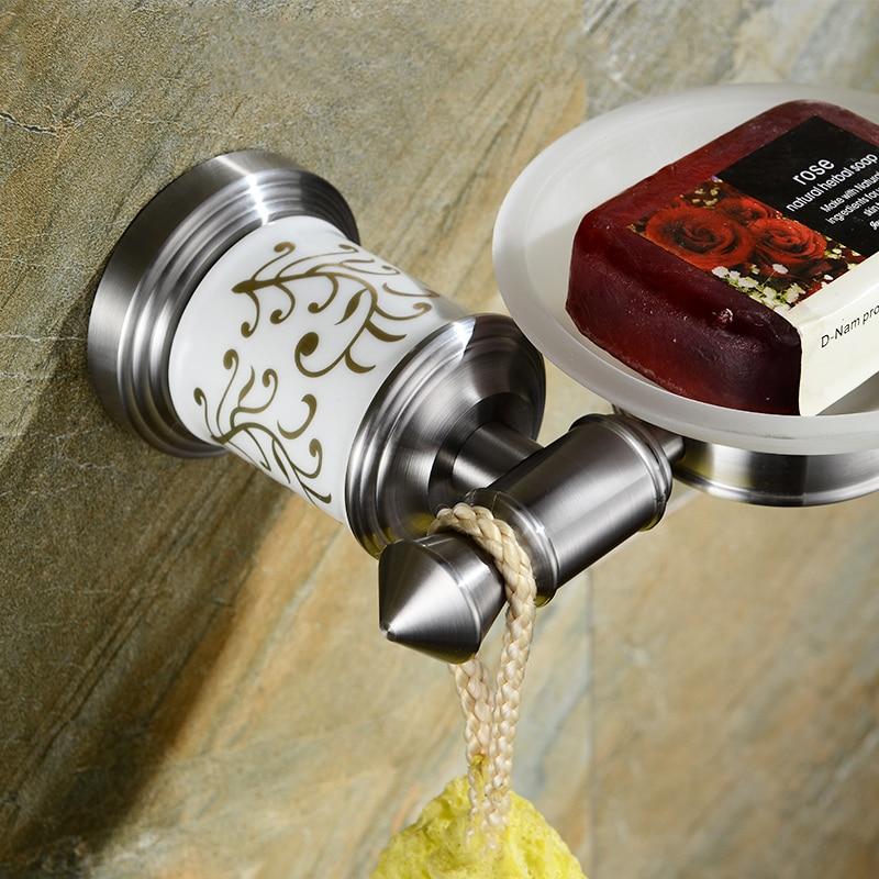 Rvs 304 badkamer zeephouder badkamer zeep rack houder plank ...