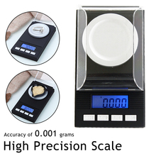 High Precision Pocket Scale Mini 0.001g Digital Scale  Electronic Capacity 20g/50g/100g  Balance Diamond Jewelry kitchen scale