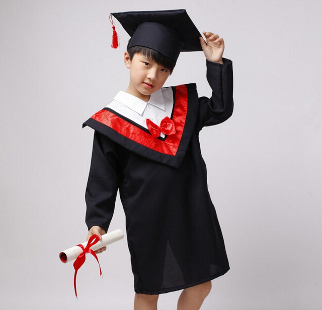 NEW Kindergarten Graduation Gown Christmas Choir Robe Costume ...