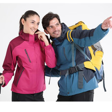 Lovers Top Quality Outdoor 3 in 1 Jackets Hiking Jackets Men,Winter Warm Thicken Climbing Skiing Jackets,Mountaineering Clothing