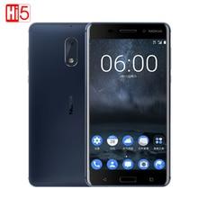 2017 Nokia 6 4 г Оперативная память 64 г Встроенная память 3000 мАч 16MP Android 7 Qualcomm Octa Core 5.5 »отпечатков пальцев Nokia6 LTE 4 г Dual SIM мобильный телефон