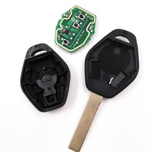 3 Button 433/315MHz Conversion General Straight Remote Car Key 7935/ID44 Chip for BMW X3 X5 E38 E39 E46 EWS System with logo