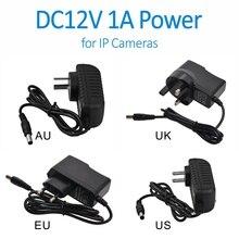Doerguin настенных розеток DC12V 1A Мощность адаптер для CCTV Аналоговый и IP Камера США/AU/UK/EU Камера на выбор доступны вилки