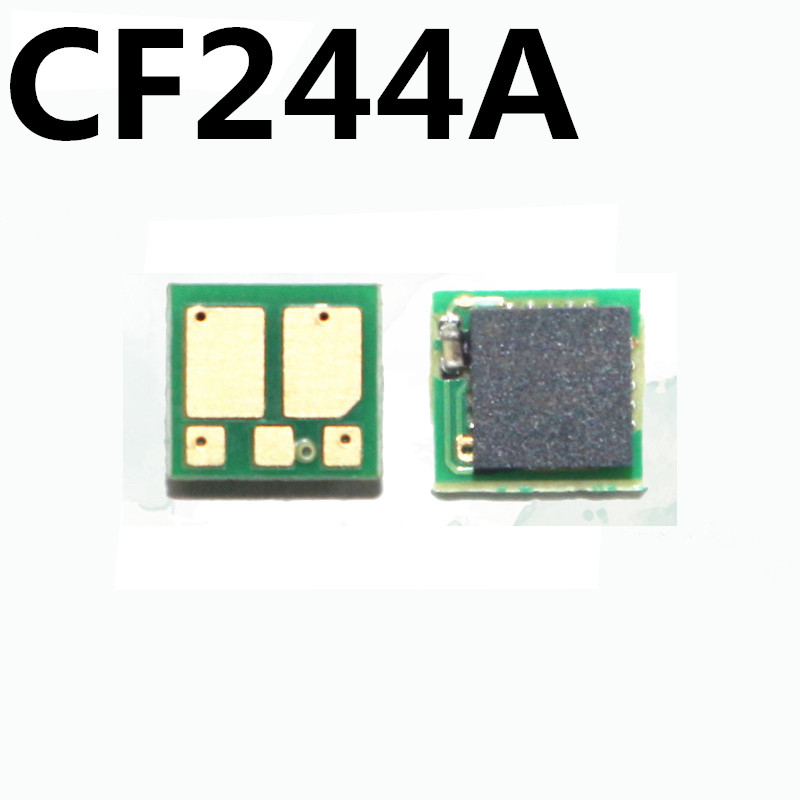 2x <font><b>CF244A</b></font> For HP LaserJet Pro M15a M15w MFP M28a M28w 28a 28w M15 M28 printer Cartridge Toner <font><b>chip</b></font> 244A 44A powder Reset Replace image