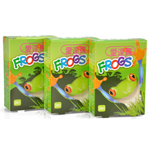 Free Shipping 60 PCs/3Boxes Assorted Breathable Waterproof Cartoon Frogs Adhesive Bandages First aid Band aid For Children Kids