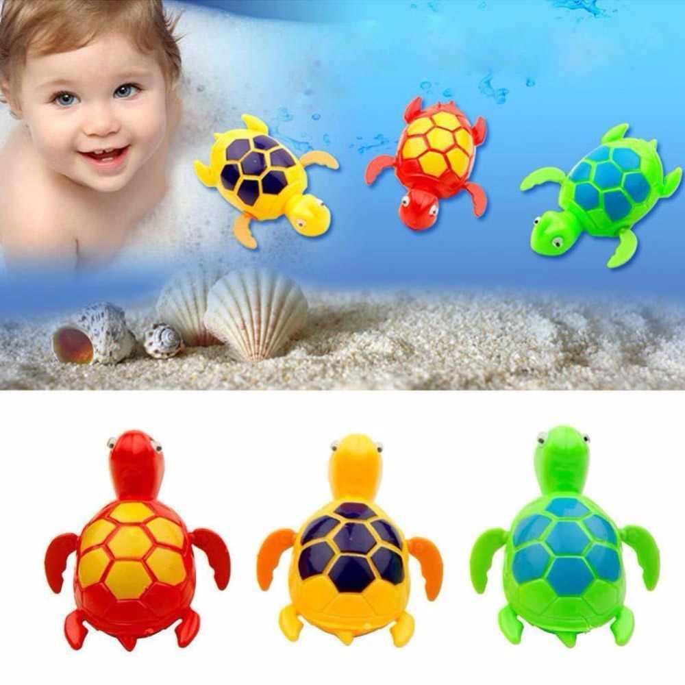 Wind up เต่าสัตว์ของเล่นสำหรับเด็กเด็กสระว่ายน้ำเด็กเวลาอาบน้ำใหม่