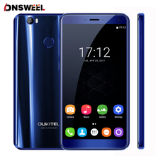 "Oukitel U11 Plus Mobile Phone MTK6750T 4G RAM 64G ROM Octa Core 5.7""FHD Android 7.0 Cellphone FingerPrint 16MP+16MP Smartphone"