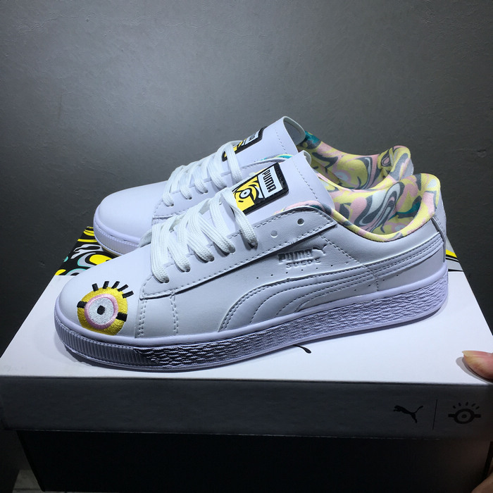 651ff0c622ba Puma x Minions Suede Xiao Huangren steals daddy joint casual shoes 36-44