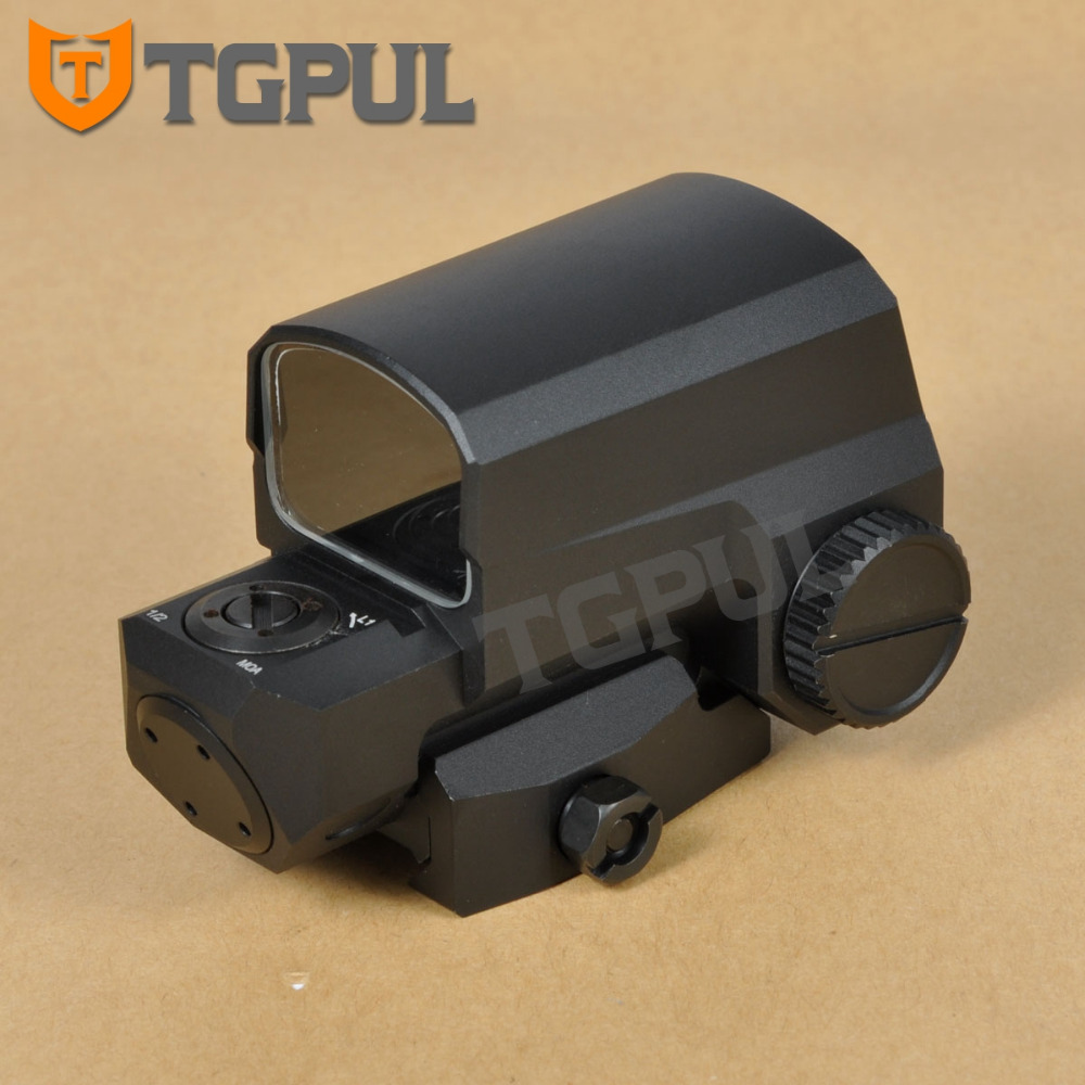 TGPUL LCO Red & Green Dot Sight Optical Hunting Aiming Scopes Holographic Tactical Weapons Riflescope Fit 20mm Rail Mount цена