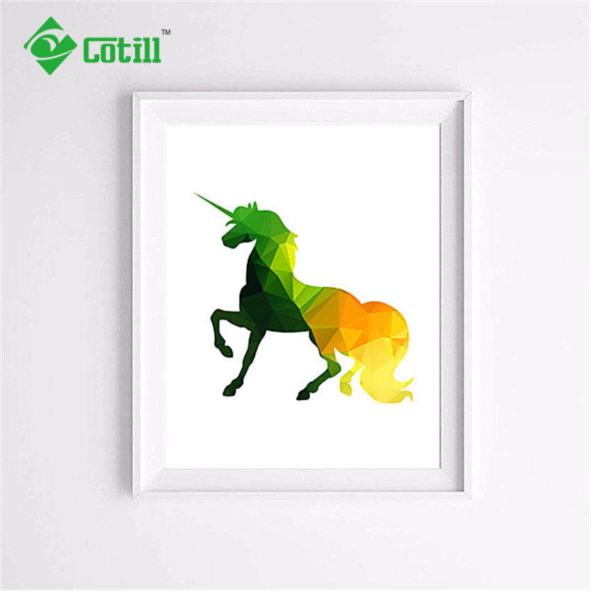 Fascinating 20 Unicorn Wall Art Design Decoration Of
