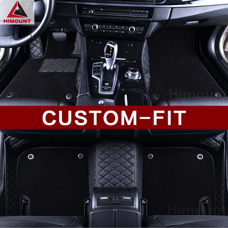 Custom car floor mats for Porsche Cayenne 955 957 958 hybrid Turbo S GTS Macan Cayman Pa ...