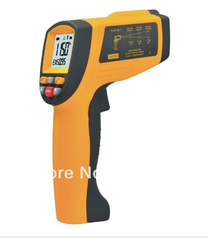 Free Shipping IR Thermometer GM 1150 Temperature With Laser -50~1150 Degree Hot Sale gm tech2 vetronix full set diagnostic tool gm tech2 scanner for saab gm opel isuzu suzuki holden dhl free shipping
