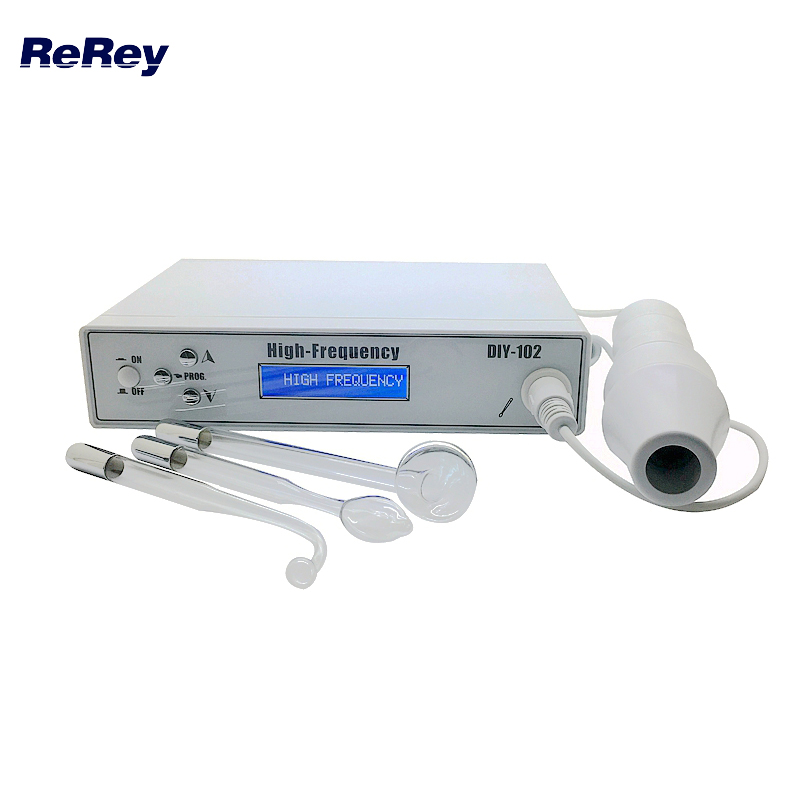 Portable High Frequency Spot Acne Remove Face Body Skin Spa Machine Anti Aging Facial Skin Care