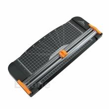Резак для бумаги Jielisi 909-5 A4 гильотинная линейка резак для бумаги триммер резак черный-оранжевый Jy19 19 Прямая поставка