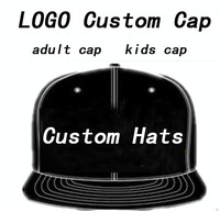 Adult Customized Baseball Caps LOGO Embroidery Snapback Cap Customized Hats Wholesale