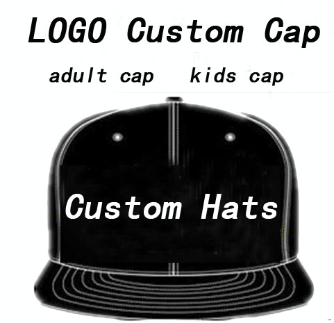 Adult Customized Baseball Caps LOGO Embroidery Snapback Cap Customized Hats Wholesale wholesale opening film ru tea caddy sealed cans antique embossed pattern logo customized gift packaging