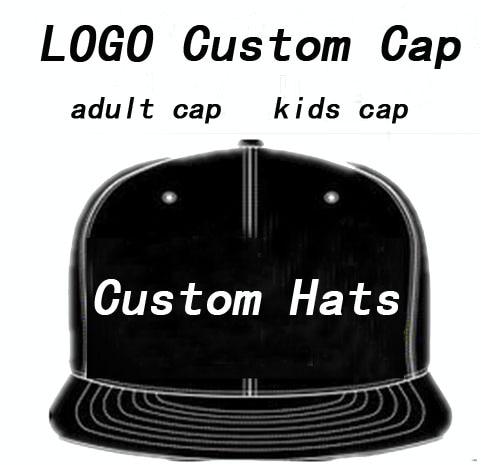 Adult Customized Baseball Caps LOGO Embroidery Snapback Cap Customized Hats  Wholesale 792c28347b8