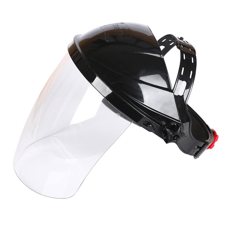 Urijk New Transparent Lens Anti-UV Anti-shock Welding Helmet Face Shield Solder Mask transparent lens anti uv anti shock welding helmet face shield solder mask face eye protect shield anti shock