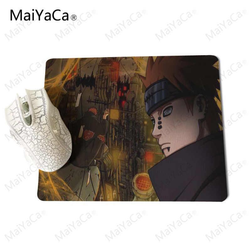 Maiyaca Kecepatan/Pengendali Version Game Mouse Alas Naruto Merah dan Biru Keren Permainan Kustom Mousemats Karet Alas