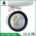 2016 led luzes da trilha trilho atacado 15 w cob led faixa luz, spot lâmpada de parede, rastreamento holofotes ac85-265v luz free grátis