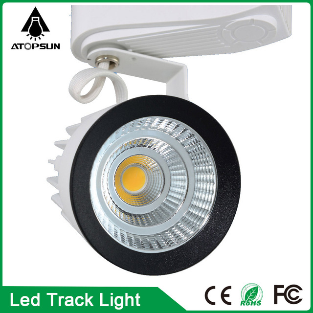 2016 led verlichting track rail groothandel 15 w cob led track licht ...