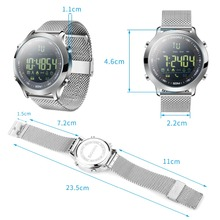 Smart Watch 5ATM Waterproof Swimming Fitness Tracker Step Calorie Count Smartwatch Connected For iphone Android
