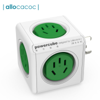 Allocacoc Powercube Power Strip Adapter Voor Australië Reizen Cn Au Elektrische Plug Smart Socket Elektrische Extension Multi Plug
