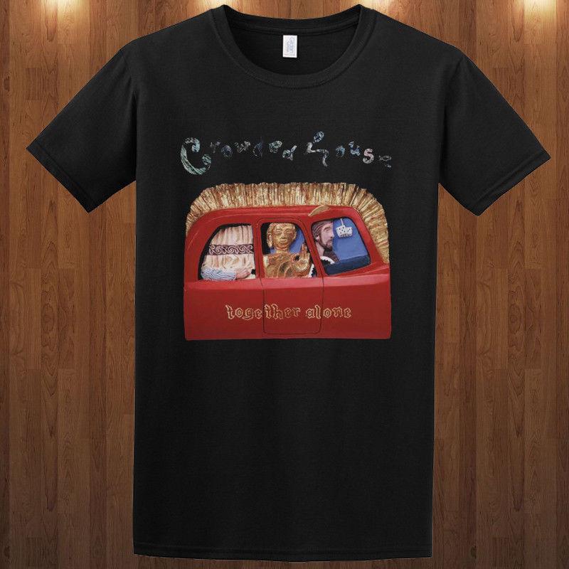 Crowded House T Shirt Pop Rock Band Neil Finn S M L Xl 2Xl 3Xl Tee The Mullaneshot Sale Casual Clothing