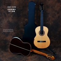full solid wood performance classic guitar with free hard case high quality