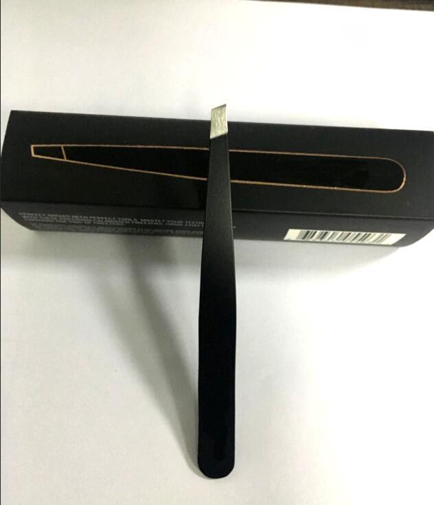 Marca nueva precisión pelo pinzas Plucker Acero inoxidable nuevo ojo sexy negro color exclusivo