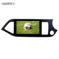 Harfey HD Touchscreen Android 8.1 9 2din car Multimedia player For 2011 2012 2013 2014 KIA Picanto Mornings Support DVR Wifi