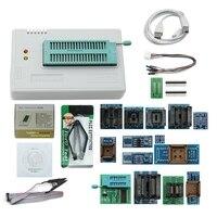 Newest V8.33 Tl866Ii Plus Universal Minipro Programmer Tl866 Nand Flash Avr Pic Bios Usb Programmer+17 Pcs Adapter|AC/DC Adapters| |  -