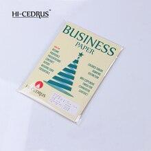 500 листов 8,5 дюймов x 11 дюймов 85 г 75% хлопок 25% льняная бумага белого цвета CYT006