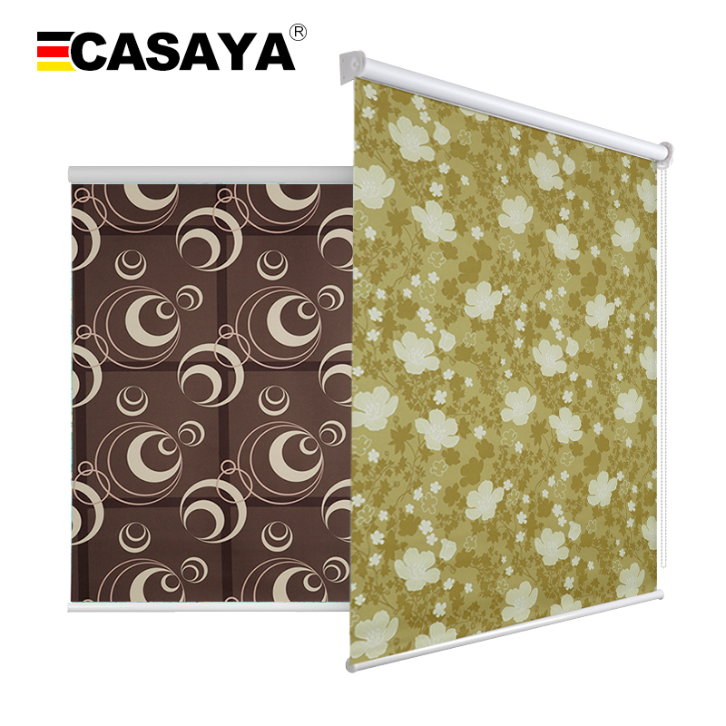 Clearance Sale Cheap Roller Blinds 100% Blackout Waterproof Window Blinds Custom Size Printed Blinds