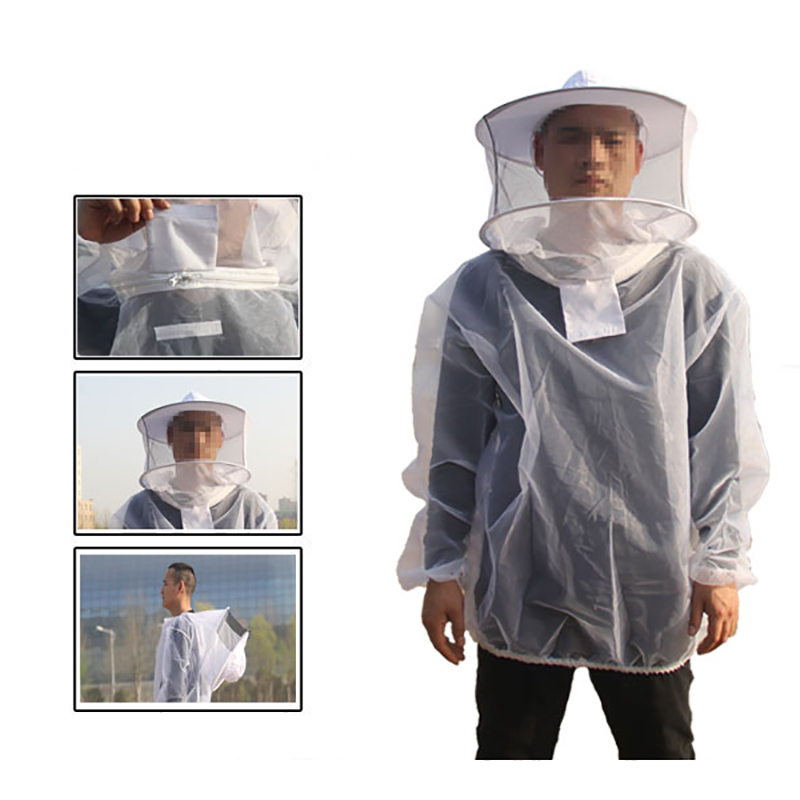 Bug Jacket Mosquito Suit Unisex Ultra-fine Mesh Summer Bug Wear For Fishing