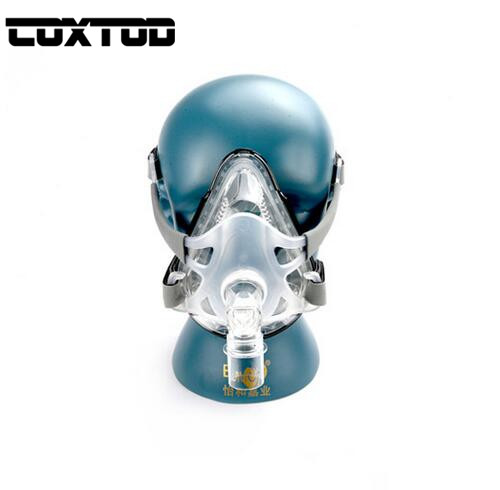 COXTOD FM1A Full Face Mask For CPAP Bipap Machine COPD Snoring  Size SML Connect Face And Hose With Headgear ClipsCOXTOD FM1A Full Face Mask For CPAP Bipap Machine COPD Snoring  Size SML Connect Face And Hose With Headgear Clips