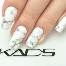 KADS Marble Series Nail Sticker Water Transfer Decal Nail Art Stickers DIY Fashion wraps Beauty Decoration Nails Accessories цена