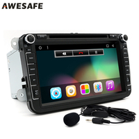 8 Inch Car DVD Player Radio Stereo Android 4 4 GPS Navigation 1024 600 Quad Core