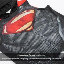 Superhero 3D printing bodybuilding stringer tank top men hoodies RK