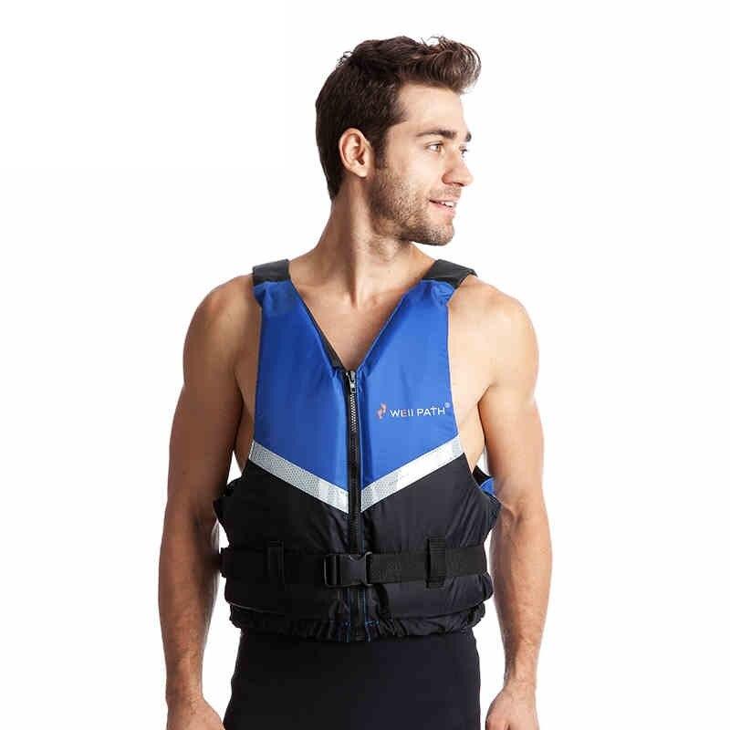 Adulte Classique Série Vie Gilet Réacteur Vie Veste pour Hommes Nautisme Pêche Kayak Rafting Paddle