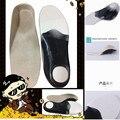 Crianças ortopédicos palmilha para sapatos PU almofada de apoio do arco ortopédicos pé plano palmilhas